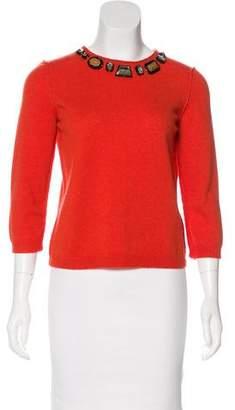 Zhor & Nema Wool & Cashmere-Blend Sweater