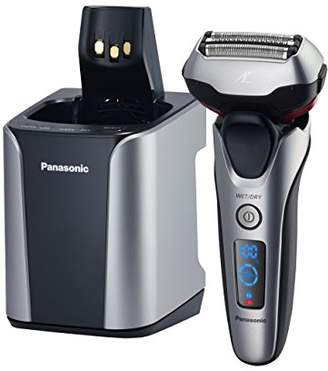 Panasonic ES-LT7N-S Arc 3-Blade Electric Shaver System with Premium Automatic Clean and Charge Station