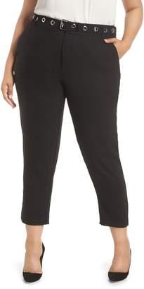 Rachel Roy Grace Grommet Belt Pants