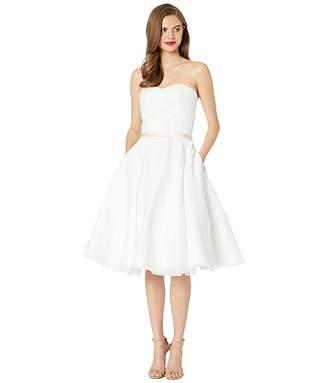 Unique Vintage x Dolly Couture Strapless Maryville Tea Length Bridal Dress