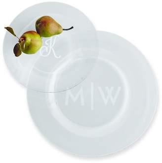 Mark And Graham Typographer's Glass Dinner Plate