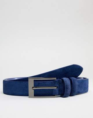 Smith And Canova Skinny Suede Belt