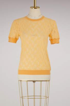 Nina Ricci Laced short sleeves top