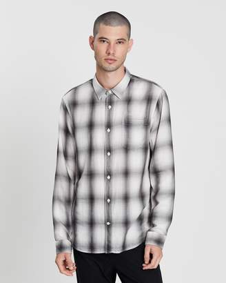 Vince Double Face Plaid LS Shirt