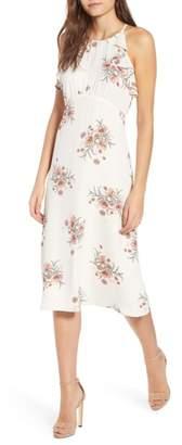 June & Hudson Floral A-Line Dress