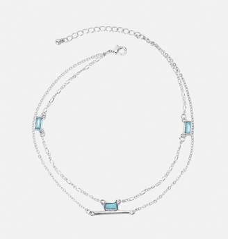 Avenue Turquoise Stone Ankle Bracelet