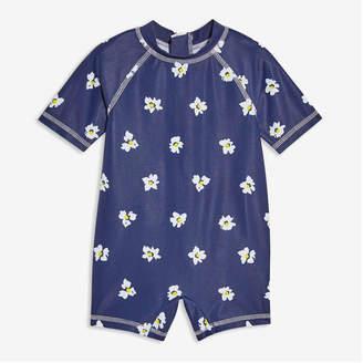 5aa4bb8a26 Joe Fresh Baby Girls' Rashguard Swimsuit, Dark Blue (Size ...
