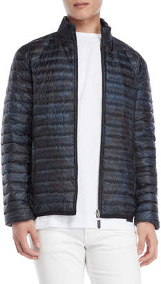 Bikkembergs Printed Quilted Down Jacket