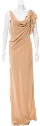 Gryphon Sleeveless Silk Maxi Dress w/ Tags