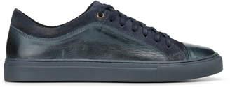 Donald J Pliner BERKELEY, Burnished Calf Leather Sneaker