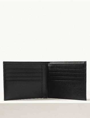 """Marks and Spencer Faux Leather Bi-fold Wallet with Cardsafeâ""""¢"""
