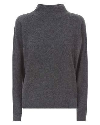 Jaeger Cashmere Cape Sweater