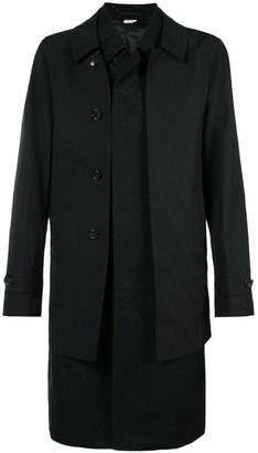 Comme des Garcons double layer tweed coat