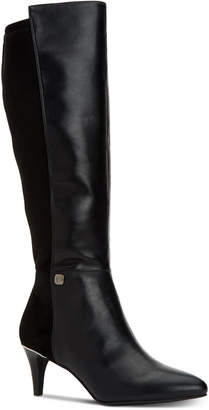 Alfani Women's Step 'N Flex Hakuu Wide-Calf Dress Boots, Created for Macy's Women's Shoes