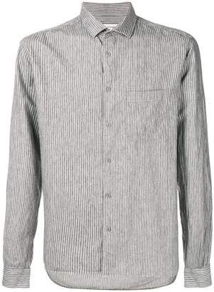YMC pinstripe button-down shirt