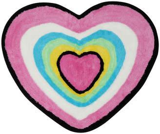 Asstd National Brand Hearts Bath Rug