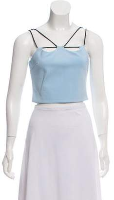 David Koma Sleeveless Crop Top w/ Tags