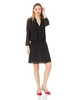 J.Crew Mercantile Women's Long-Sleeve Smocked Tie-Front Dress