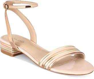 Aldo Izzie Metallic Sandals Women's Shoes