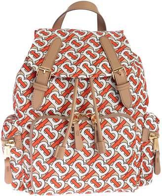 66a5b2a010bb Burberry Medium B All-over Print Classic Backpack