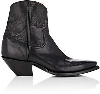 R 13 Women's Leather Cowboy Boots - Black