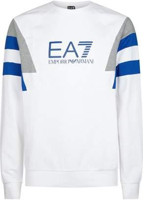 Giorgio Armani Ea7 Panelled Sweater