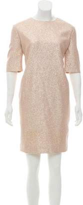 Lanvin Metallic Silk Dress