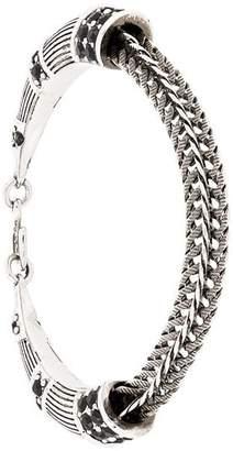 Roberto Cavalli embellished snake bracelet