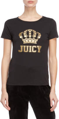 Juicy Couture Glitter Crown Tee
