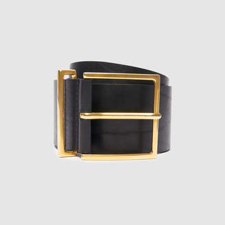 0cebabbe3 Black Wide Leather Women's Belts - ShopStyle