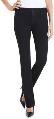 Liverpool Saide Straight-Leg Jeans in Black