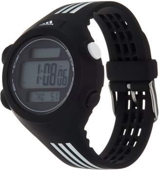 adidas Unisex Black & White Resin Sport Watch - Questra