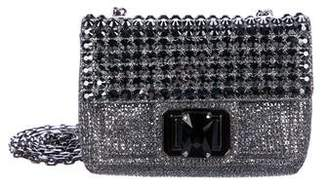 Judith Leiber Embellished Glitter Evening Bag