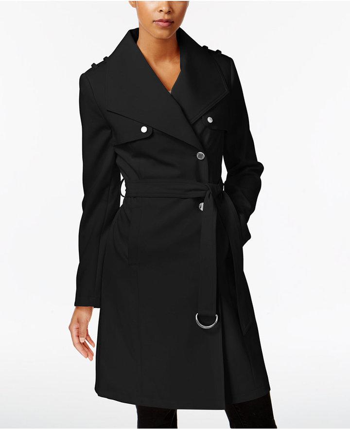 Calvin KleinCalvin Klein Asymmetrical Trench Coat