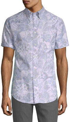 Brooks Brothers Tropical Print Shirt