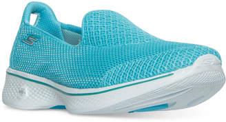 Skechers Women's GOwalk 4 - Propel Walking Sneakers from Finish Line $49.99 thestylecure.com