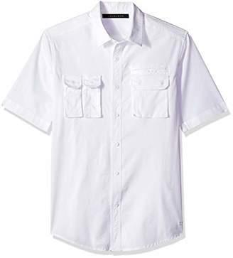 1b37a9d708a Sean John Men s Short Sleeve Flight Shirt