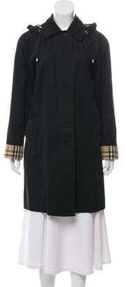 Burberry Hooded Rain Coat