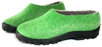 """Felt Forma Organic Wool Shoes """"Green Woods"""""""
