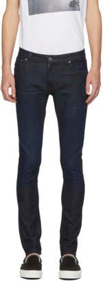 Nudie Jeans Indigo Skinny Lin Jeans