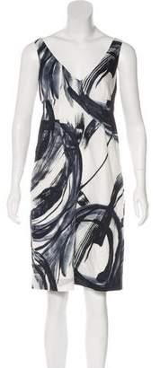 Vince Printed Sleeveless Dress