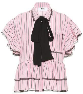 MSGM Striped blouse