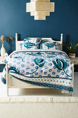 Anthropologie SUNO for Embroidered Diani Quilt