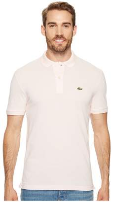 Lacoste Short Sleeve Slim Fit Pique Polo Men's Short Sleeve Pullover