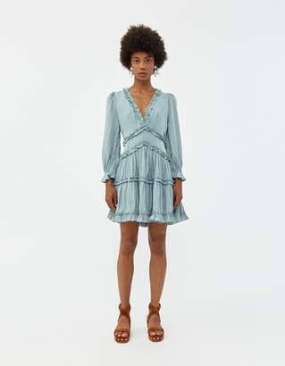 Farrow Chantal Ruffled Dress