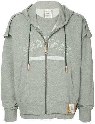 Puma Maison Yasuhiro printed zipped jacket