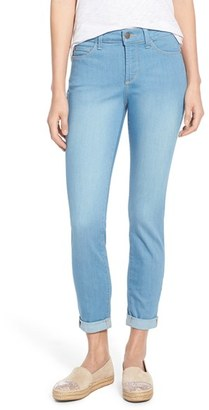Petite Women's Nydj 'Annabelle' Stretch Skinny Boyfriend Jeans $134 thestylecure.com