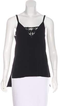 Thakoon Sleeveless Lace-Accented Top w/ Tags