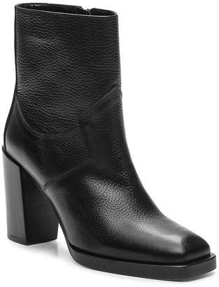 The Kooples Women's Square Toe Leather Boots