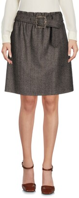 Jil Sander Navy Mini skirts